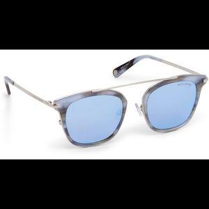 Henri Bendel Evan Square Sunglasses